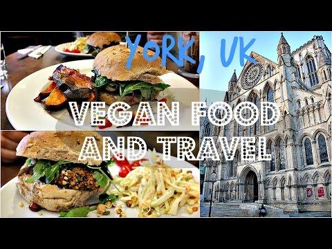 VEGAN FOOD + TRAVEL VLOG (York, UK) ♥ Cheap Lazy Vegan