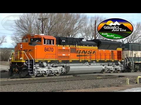 BNSF and Union Pacific Trains in Colorado - Spring 2016
