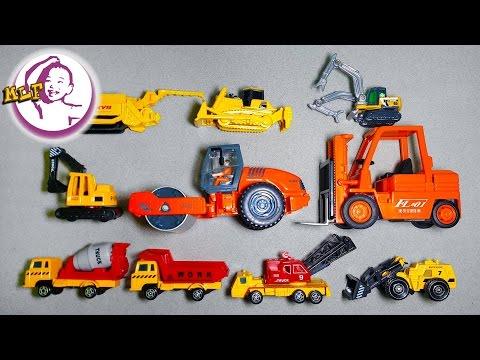 Học từ vựng - các loại xe công trình (工程作业车)