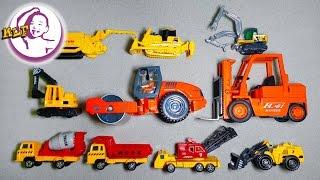 讓小朋友認識不同工程作業車的名稱|第三集|