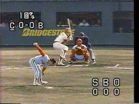 山田久志 1984年  広島x阪急 日本シリーズ 第一戦