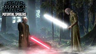 Star Wars Episode 9 Shocking Scene Of Snoke & Emperor Palpatine! (Potential Spoilers)