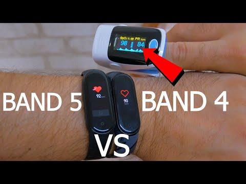 Mi Band 5 vs Mi band 4. Отзыв реального пользователя! Что выбрать?  14 дней и 1 год использования!