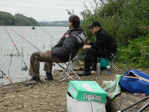 Рыбалка с ночёвкой на Яме Фидер на реке Ока Карась Подлещик