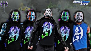 Jeff Hardy 5 Amazing Face Paints of 2018 WWE! (SD Live & PPVs) - WWE 2K18 Mods!