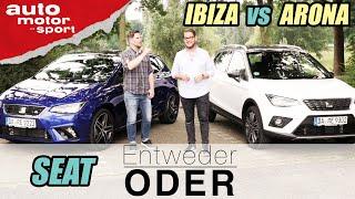 Seat Arona vs Ibiza| Entweder ODER | (Vergleich/Review) auto motor und sport
