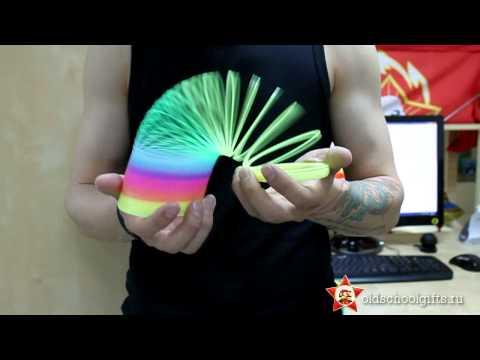 Радуга пружинка. Слинки - Slinky