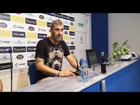 Rueda de prensa de Jon Pérez Bolo partido previa contra el Cadiz