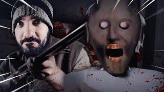 HE DISPARADO A GRANNY CON UNA ESCOPETA !! | Granny (Horror Game)