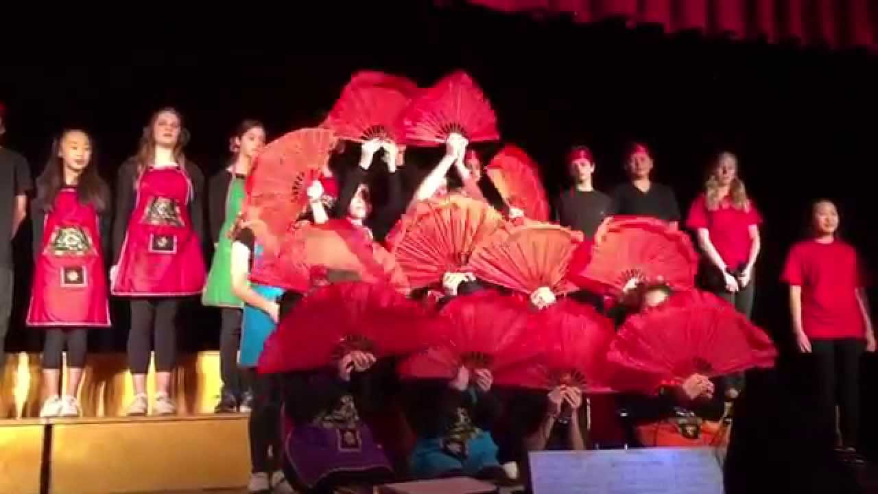 Jasmine Flower Fan Dance Youtube