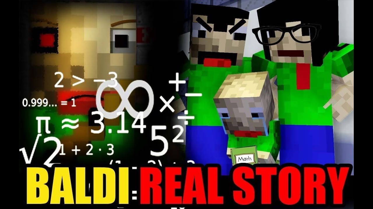 Monster School: BALDI'S LIFE (The Real Story) - Minecraft Animation