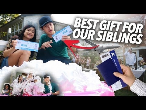 SURPRISE PRESENT FOR SIBLINGS | Ranz and Niana