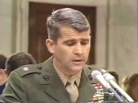 Marine Corps Lieutenant Colonel Oliver North's opening statement (snippet)