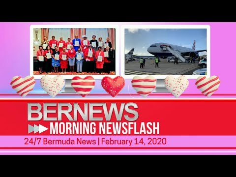 Bermuda Newsflash For Friday, February 14, 2020