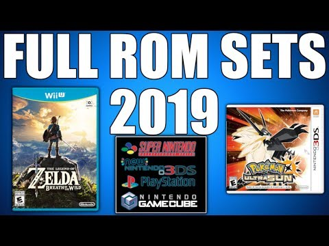 How To Download FULL ROM SETS 2019 (Where To Get No Intro Roms) Gamecube, SNES, 3DS, Wii U, Etc.