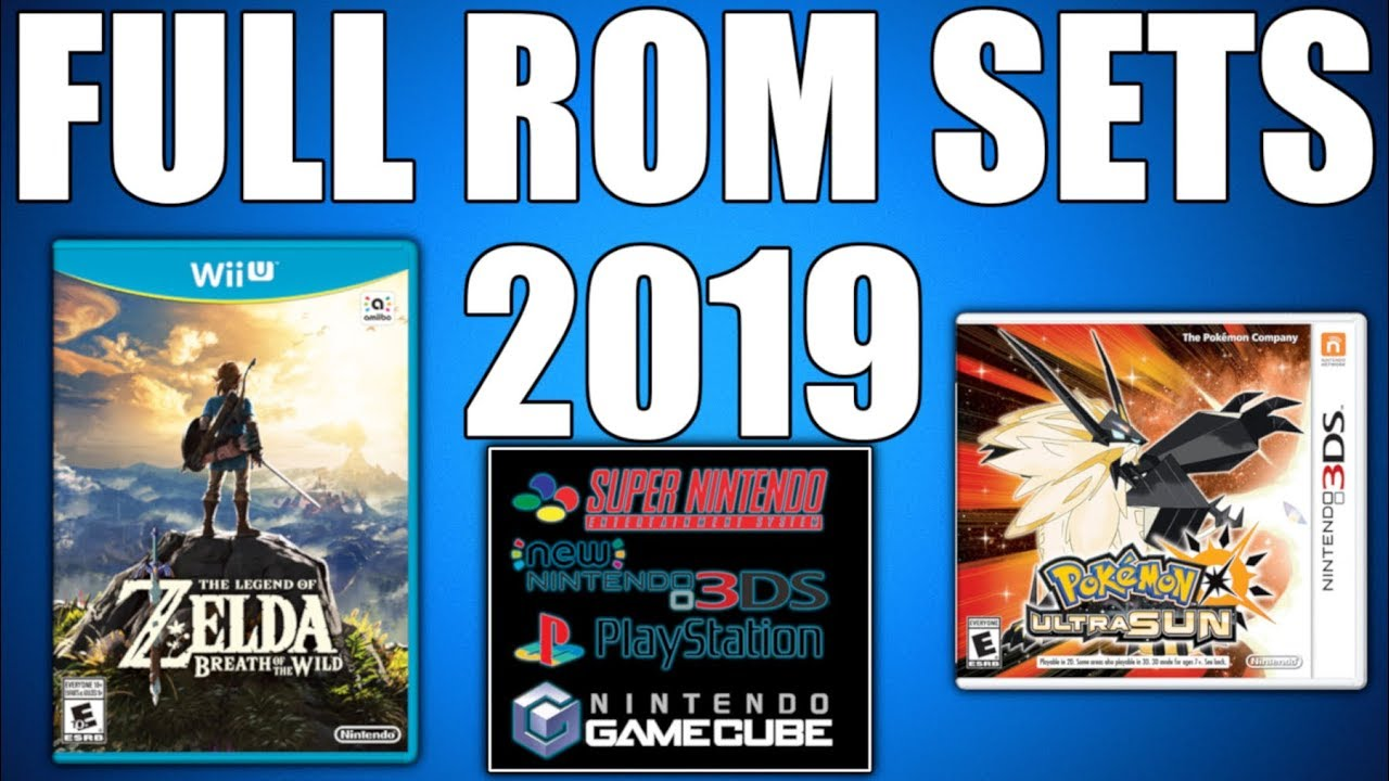 How To Download FULL ROM SETS 2019 (Where To Get No Intro Roms) Gamecube,  SNES, 3DS, Wii U, etc