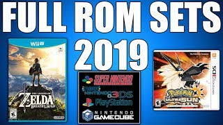 How To Download Full Rom Sets 2019 Where To Get No Intro Roms Gamecube, Snes, 3ds, Wii U, Etc.