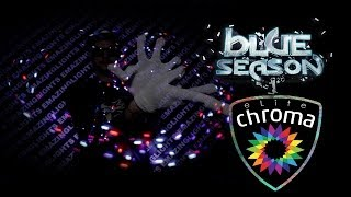 Team [e] Socks - The Blue Season Glove Light Show [EmazingLights.com]