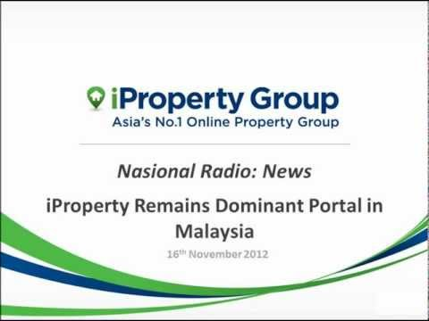 Nasional Radio News 16/11/2012: iProperty Remains Dominant Portal in Malaysia