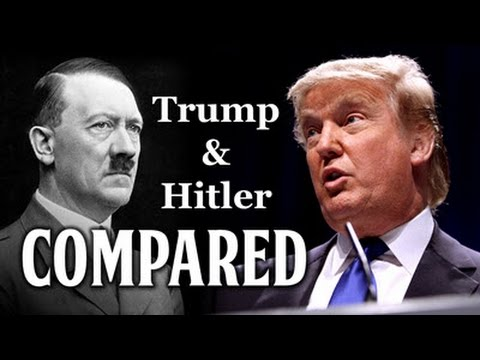 Trump and Hitler Compared - YouTube