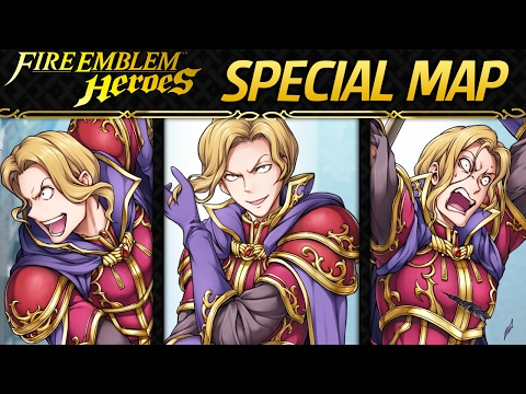 Fire Emblem Heroes - SPECIAL Map: Wyvern General Narcian (iOS and Android Gameplay!)