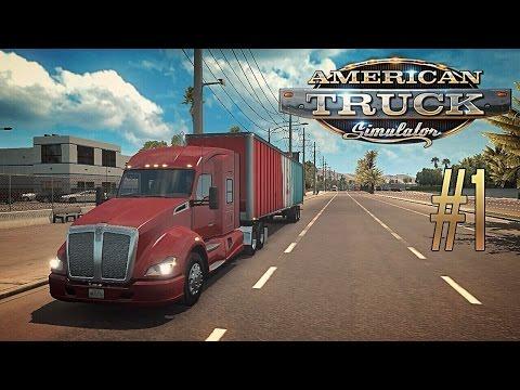 American Truck Simulator [#1] - Первые впечатления