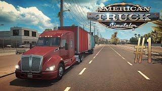 american Truck Simulator #1 - Первые впечатления
