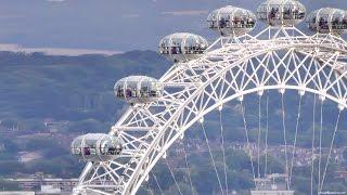 Колесо обозрения в Лондоне - лондонский глаз(Колесо обозрения Лондонский Глаз (английское название London Eye) является одним из крупнейших колёс обозрения..., 2016-03-19T17:39:12.000Z)