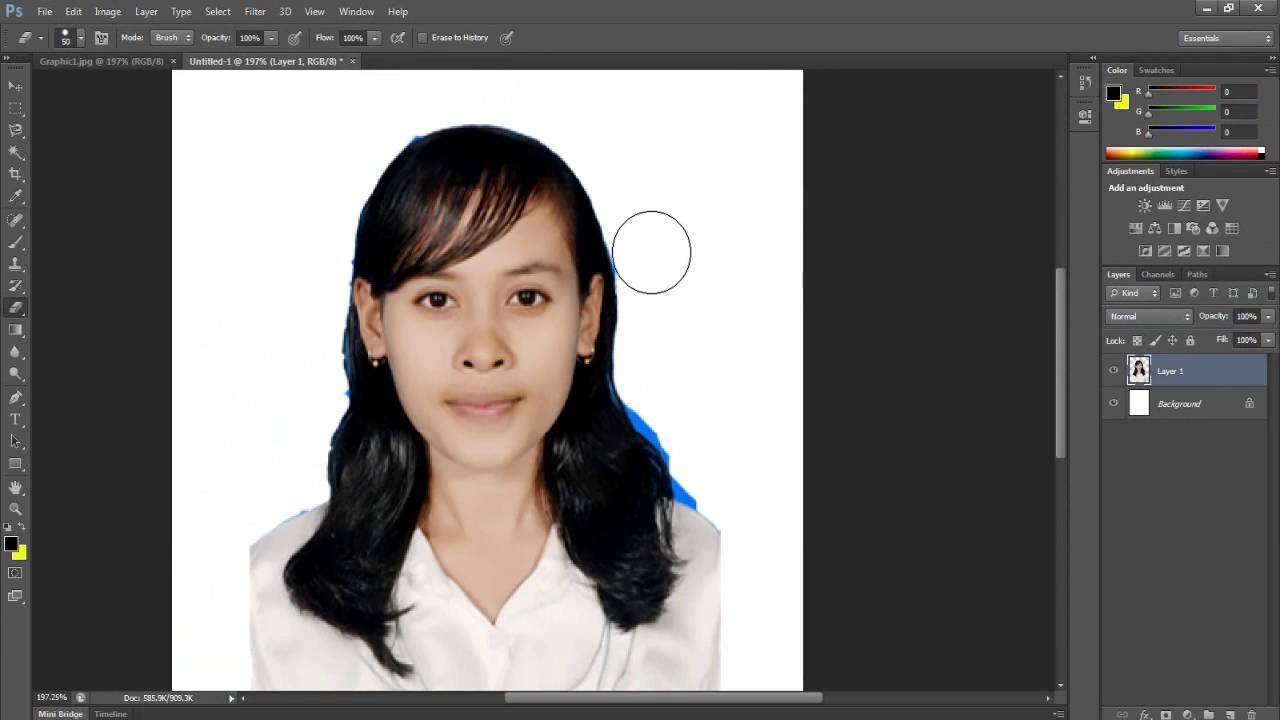 Cara Menghapus Background Foto Menggunakan Adobe Photoshop ...