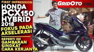 Honda PCX 150 Hybrid 2018  First Impression  GridOto