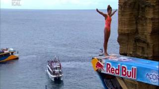 Adriana Jimenez - Red Bull Cliff Diving (Azores - 2017)