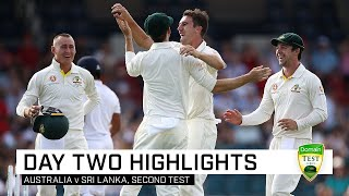 Aussies in box seat after late drama |