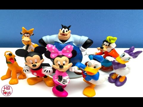 Mickey Mouse Clubhouse Toys | Mickey Minnie Donald Duck Pluto Disney ...