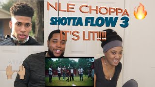 NLE Choppa - Shotta Flow 3 (Official Music Video) | Reaction
