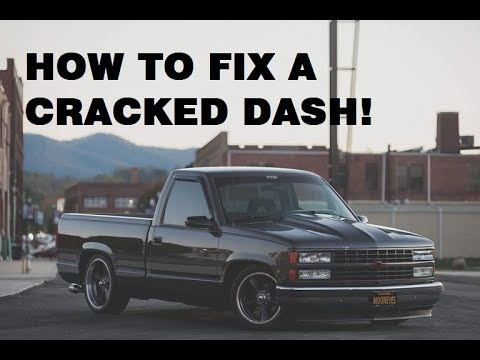 MUSCLE TRUCK DASH INSTALL !! + HOW TO FIX YOUR OLD DASH