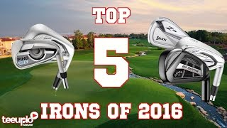 Top 5 irons of 2016