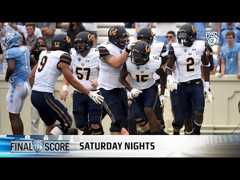 Highlights: Ross Bowers guides Cal football to 35-30 comeback win over North Carolina