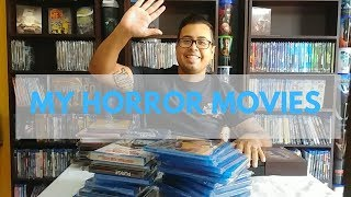 My complete Horror movie collection 2019