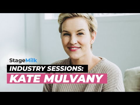 StageMilk Industry Sessions: Kate Mulvany on Acting, Shakespeare and Maintaining a Career