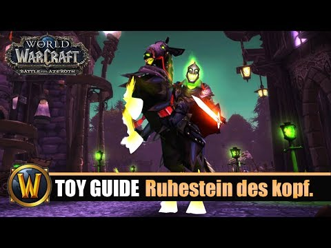 [WOW] Spielzeug Guide #123: [Ruhestein Des Kopflosen Reiters] - Schlotternächte 2018