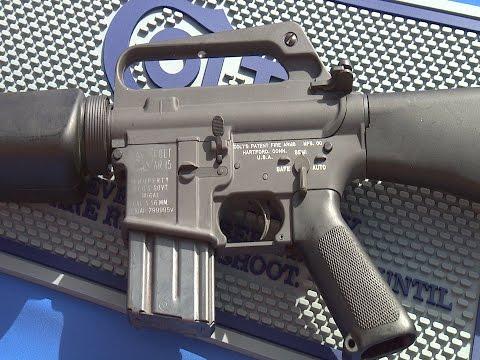 Colt  M16A1 Reissue Range Test By Gun Stock Reviews