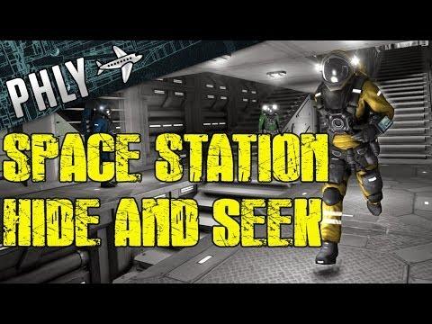 Space Engineers Mega Space Station - Hide And SEEK!- Space Engineers MINI Games |