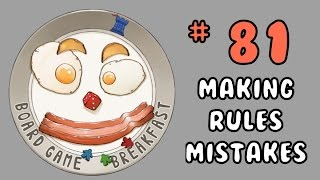 Board Game Breakfast: Episode 81 - Making Rules Mistakes