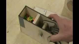 Wood Combination Lock: Candy Dispenser
