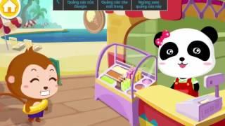 Baby Panda Care - Gấu Trúc Miu Miu - Gấu trúc Miu Miu làm kem và món tráng miệng