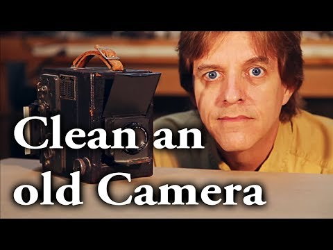 How to clean an old camera