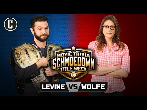 TITLE MATCH! Samm Levine vs. Clarke Wolfe II - Movie Trivia Schmoedown