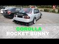 Toyota Corolla AE111 Rocket Bunny Style