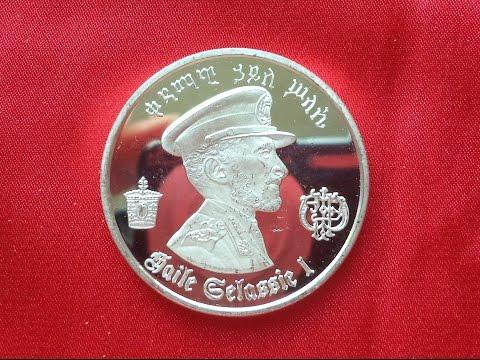ETHIOPIA 5 SILVER DOLLARS 1972 - Haile Selassie Second Reign