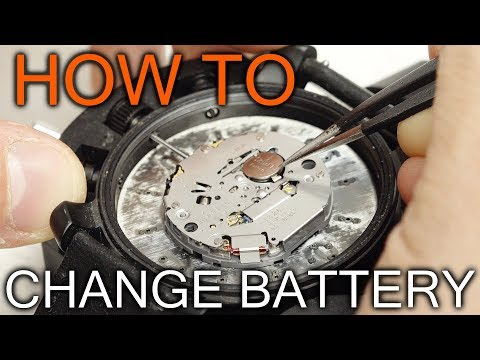 How To Replace Battery In Fossil Watch